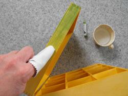 teafiltertartó készítése