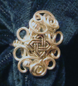 hosszított gyűrű készítése drótékszerből
