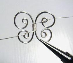 bianka lánc drótékszerből