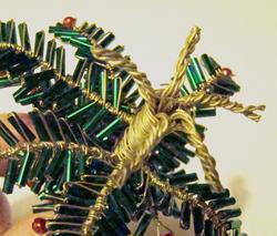 karácsonyfa drótból