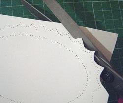 fonalas képeslap készítés