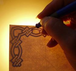 lépcsús képeslap készítés