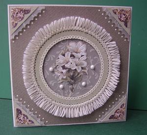 képeslap tapizz technikával