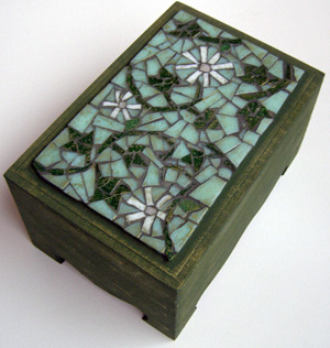 jobb agyféltekes mozaik készítés