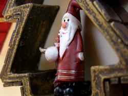 karácsonyi lakásdekoráció készítése mozaik technikával