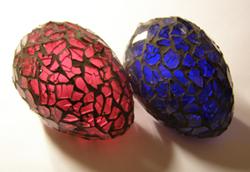 húsvét mozaik morzsi tojás