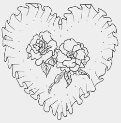 pergamen szív küldi
