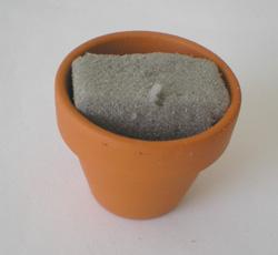 béka asztali fotótartó süthető gyurmából