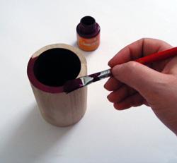 szalvetatechnika ceruzatartó