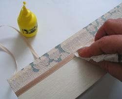 decoupage zsebkendőtartó meghitt pillanatokra
